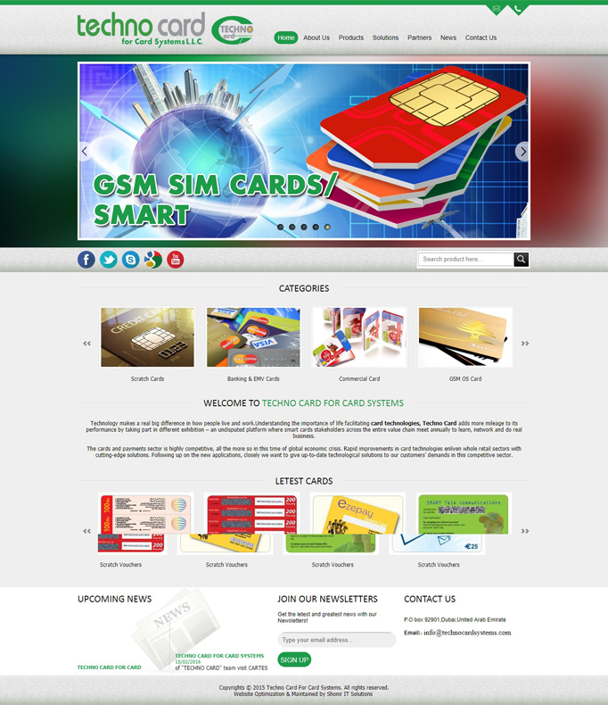 Techno Card For Card Systems L.L.C